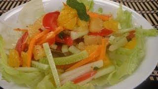 Citrus Cucumber Salad
