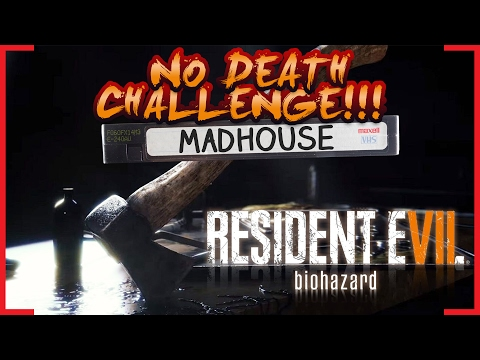 Resident Evil 7 | MADHOUSE KNIFE ONLY NO DEATHS WORLD RECORD SPEEDRUN