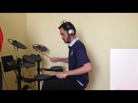 Coldplay  - Fix You Gamelan Version (Drum cover by Hafiz)