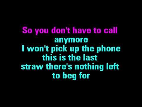 You're Not Sorry Karaoke Taylor Swift - You Sing The Hits