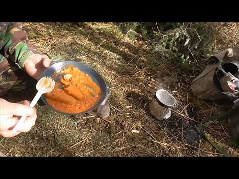 Irish Defence Forces 24 hour ration pack 24 hour field test....Well almost