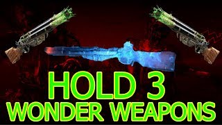 AFTER PATCH (1.11)BO4 ZOMBIE GLITCHES: HOLD 3 UPGRADED WONDER WEAPONS GLITCH - BOTD