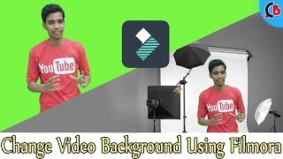 How To Change Video Background Using Filmora🖥 (Hindi) ||  Creative Bijoy thumbnail