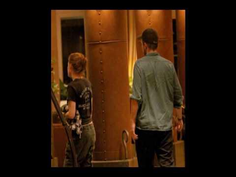 Robert Pattinson And Kristen Stewart Their First  Kiss !!16 August!!! Canada