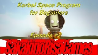 Kerbal Space Program 1.2 for Beginners Tutorial - Episode 2 - Getting into Orbit, Maneuver Nodes!