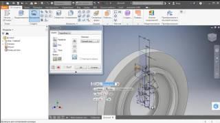Создание 3D модели с 2D чертежей - уроки Inventor