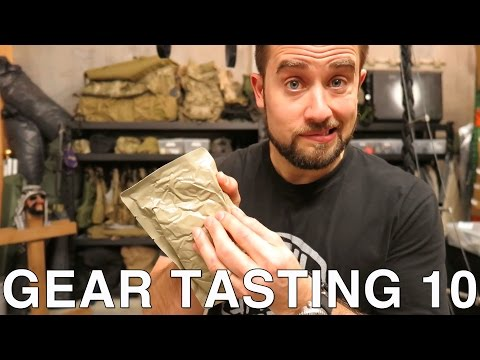 Gear Tasting 10: Splitting Wood, Chest Rigs and Ancient MRE's