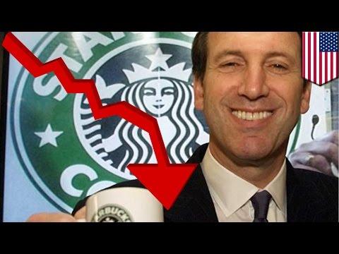 Starbucks CEO tells baristas to be nice to sad customers after stock market crash - TomoNews