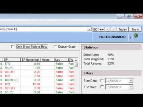 How to record your bets using the bet manager