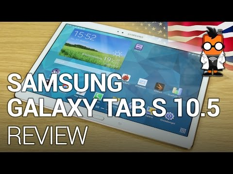 Samsung Galaxy Tab S 10.5 (LTE) Review [ENGLISH]