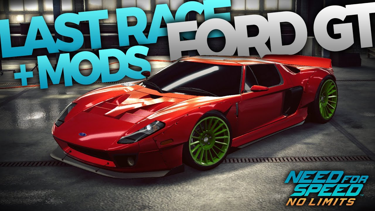Getting Customising The Ford Gt Need For Speed No Limits