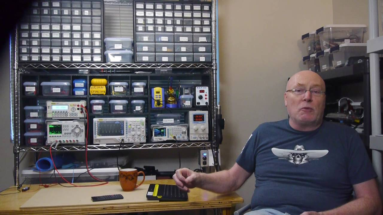 Electronic Lab Instruments : Home electronics lab youtube