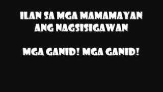 the wuds nakalimutan ang diyos lyrics