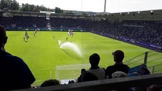 Erzgebirge Aue vs. 1. FC Magdeburg Vorstellung der Heimmannschaft