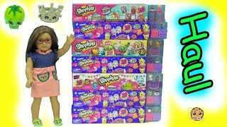 HAUL 140 Shopkins 20 MEGA Packs With Surprise Blind Bags - Season 8, 7, 4