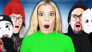 Which BEST FRIEND is the REAL Daniel in Game Master Hide and Seek Chase? | Rebecca Zamolo Video