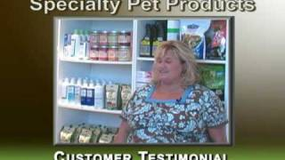Pet odor exterminator candles - Customer testimonial