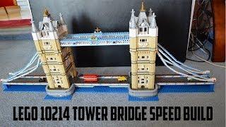 Lego 10214 Tower Bridge Speed Build