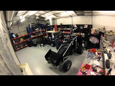 Jamie McDonald sprint car build