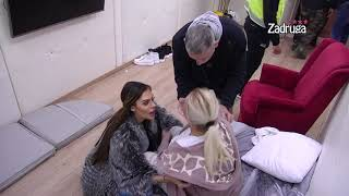 Zadruga 4 - Marija čupa Miljanu za kosu - 21.10.2020.