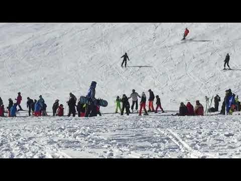 Skilift # Kaiserwetter # Schmiedefeld am Rennsteig # Snowboarden # Apres Ski # Abfahrt 😎👍