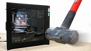 GAMING PC vs SLEDGEHAMMER!