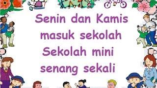 Gambar cover SEKOLAH MINI (LIRIK) - Lagu Anak - Cipt. Pak Kasur - Musik Pompi S.