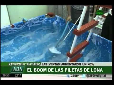 360 tv actualidad el boom de las piletas de lona youtube - Parches para piscinas de lona ...
