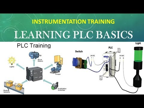 INSTRUMENTATION AND CONTROL TRAINING - BASIC PLC PROGRAMMING - STUDY MATERIALS