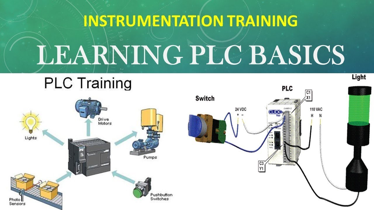 INSTRUMENTATION AND CONTROL TRAINING - BASIC PLC PROGRAMMING - STUDY ...