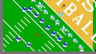 Throwback Gaming- NES Play Action Football