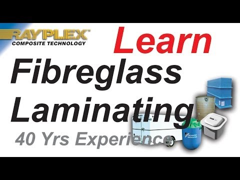 Learning  the Basics of Fibreglass Laminating Video