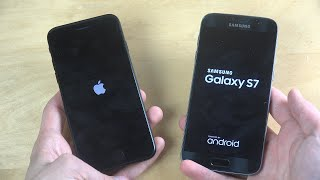 iPhone 7 vs. Samsung Galaxy S7 - Which Is Faster?!