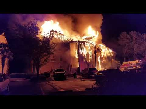 Carolina Forest Fire Burns Down Windsor Green Apartments