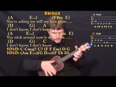 Something (The Beatles) Ukulele Cover Lesson with Chords/Lyrics