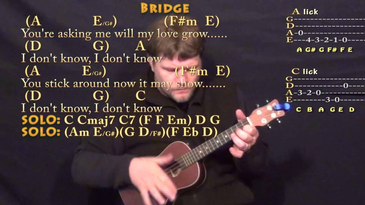 Something The Beatles Ukulele Cover Lesson With Chordslyrics