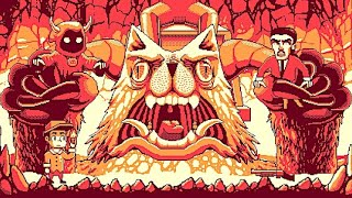 Lasagna Boy (New Remake) - A Game Boy Styled Lovecraftian Horror Adventure with Epic Boss Battles!