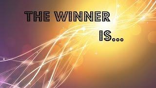 The winner is....