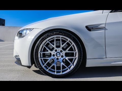 Refinishing BMW M3 Competition Wheels to Better than Stock