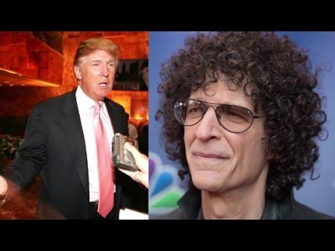 Donald Trump's crude talk on The Howard Stern Show
