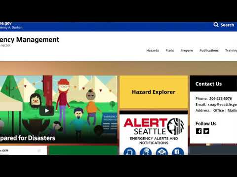 Luma, Disasters, and the City of Seattle