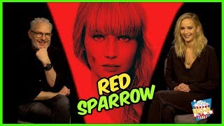 Red Sparrow ENTREVISTA Con Jennifer Lawrence Y Francis Lawrence