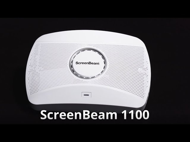 Meet the New ScreenBeam 1100 4K Wireless Display for Today's Enterprise Environment