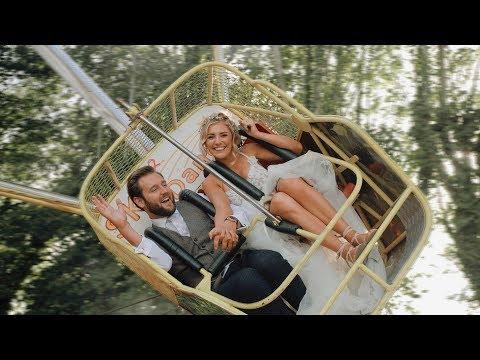 LOTTIE & ROSS // A Marleybrook House Wedding Film (Epic Kent Funfair Wedding!)