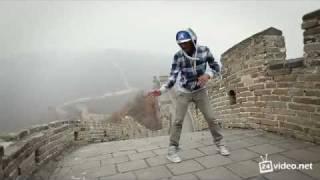 Танец под dab-step на Великой Китайской стене