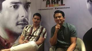 Cain at Abel Dingdong Dantes and Dennis Trillo exclusive onterview