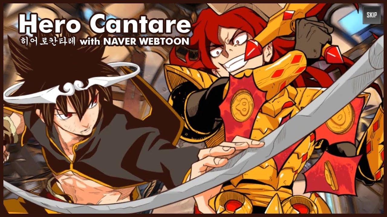 히어로칸타레 with NAVER WEBTOON [Hero Cantare] Gameplay