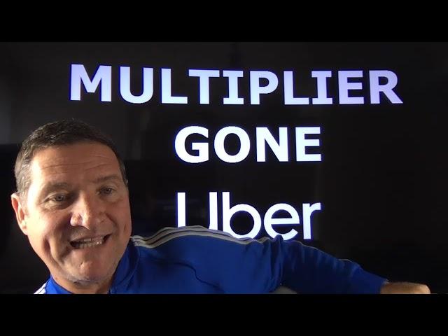 Uber Multiplier is GONE in Los Angeles, gone in San Diego & gone in Orange County. ADIOS multiplier.