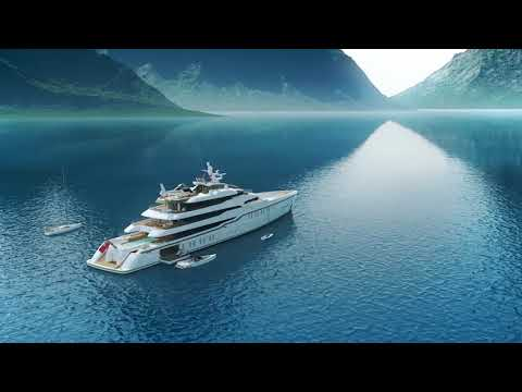 CRN Yachts - CRN: 86 Metres Project -  the new explorer yacht designed by Harrison Eidsgaard