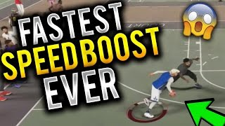 I FOUND THE NEW FASTEST SPEED BOOST! FASTEST SPEED BOOST IN NBA 2K17 MY PARK